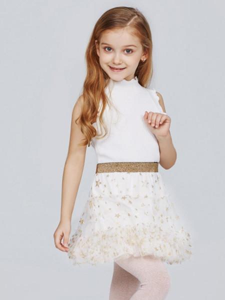 歌拉齐亚baby Graziella童装品牌2020夏无袖针织女童短袖
