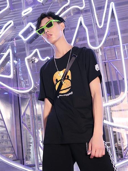 齐齐蛙童装品牌2020春夏宽松纯棉运动套装两件套