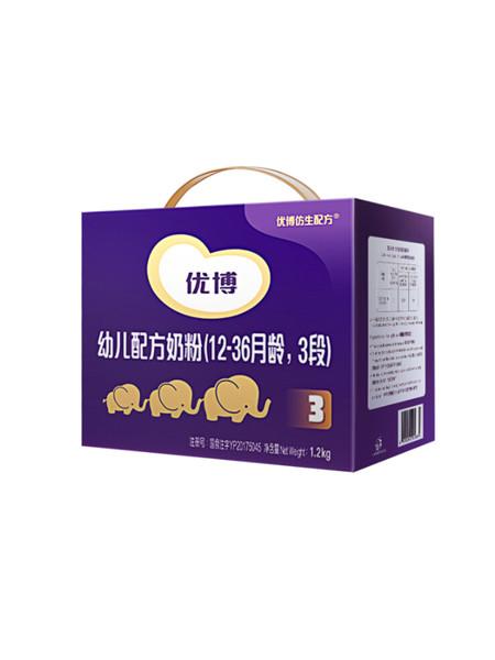Synutra婴儿食品幼儿配方奶粉(12-36月龄,3段)1200克三联包