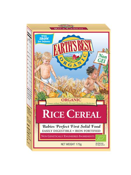 Earths best婴儿食品有机大米粉(6个月或以上)