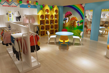 世纪童话店铺展示