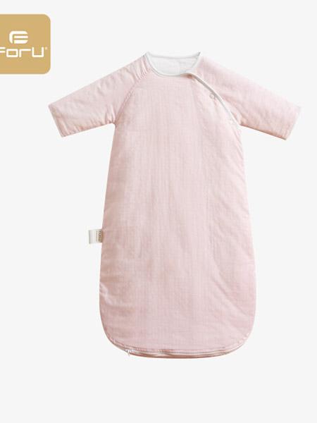 芙儿优童装品牌2020春夏精灵蓝宝宝睡袋婴儿睡袋防踢被子睡衣秋冬款