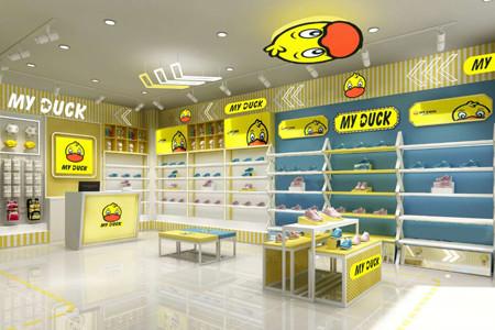小黄鸭店铺展示