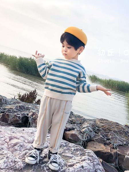 妈爱家童品童装品牌2020春夏男童条纹上衣