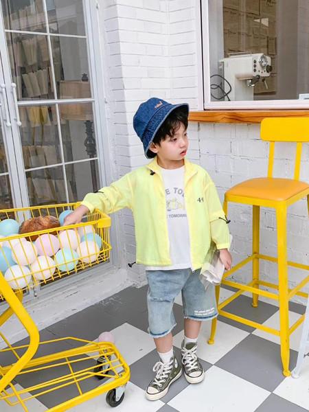 妈爱家童品童装品牌2020春夏轻薄防晒衫外套