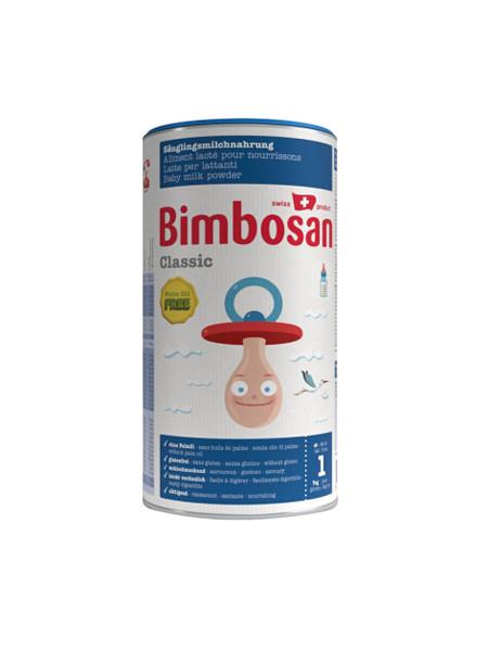 bimbosan宾博婴儿食品 经典婴幼儿奶粉 1段 (0-6个月) 500g/罐