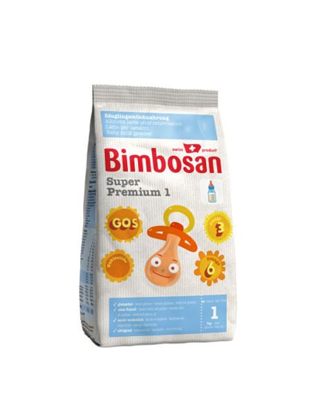 bimbosan宾博婴儿食品 超金装婴幼儿奶粉 1段 (0-6个月) 400g/袋