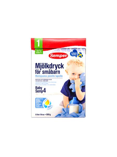 Semper婴儿食品婴幼儿奶粉 4段(1岁以上) 800g/盒