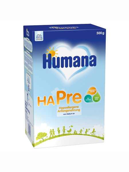 humana婴儿食品500克袋装奶粉