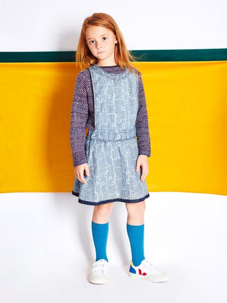 bonjourmaurice童装品牌2020春夏田园风背心裙
