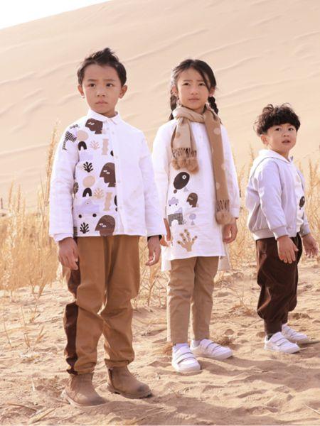森虎儿童装品牌2020秋冬白色长袖衬衫