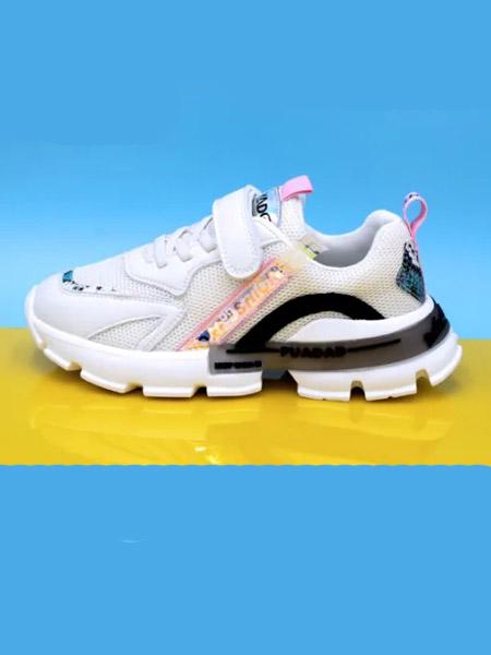 永高人/卡丁童鞋品牌2020秋冬黑白粉色运动鞋