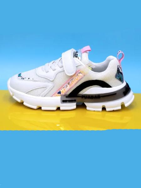 永高人/卡丁童鞋品牌2020秋冬白色黑色运动鞋