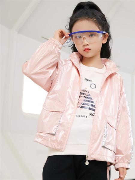 JOJOBO啾比乐龙8品牌2020秋冬粉色外套薄款