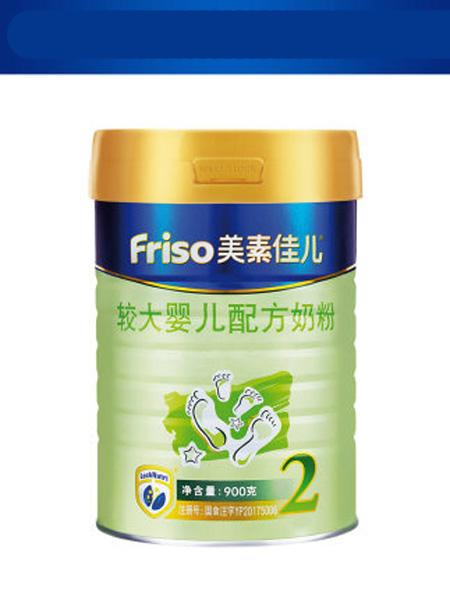 美素佳儿婴儿食品Friso美素佳儿荷兰原装进口较大婴儿配方奶粉2段900g*1