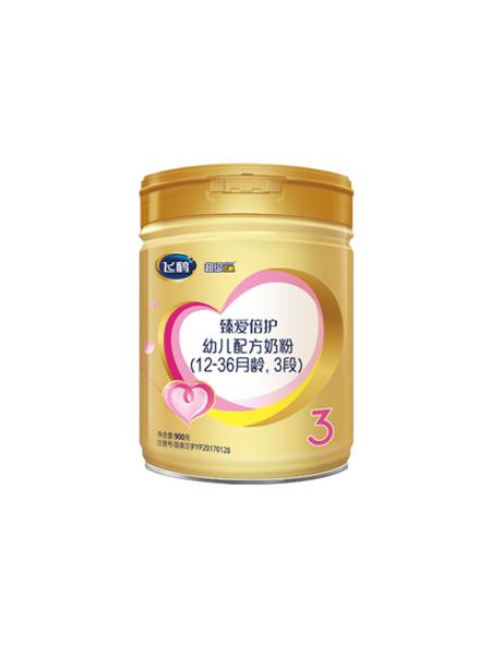 飞鹤婴儿食品飞鹤超级飞帆臻爱倍护3段配方牛奶粉三段900g*1罐
