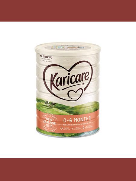 可瑞康Karicare婴儿食品澳洲karicare可瑞康牛奶粉1段新西兰进口婴儿宝宝奶粉900g