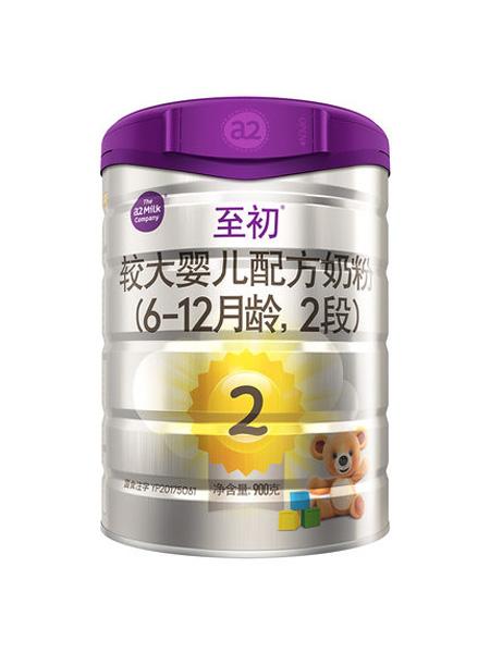 a2白金婴儿食品新西兰进口婴幼儿奶粉二段2段900g 乳铁蛋白