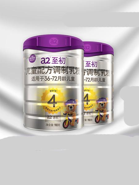 a2白金婴儿食品官新西兰进口儿童配方四段4段900g*2罐装 乳铁蛋白