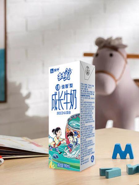 未来星婴儿食品未来星儿童成长牛奶佳智型190ml*15包