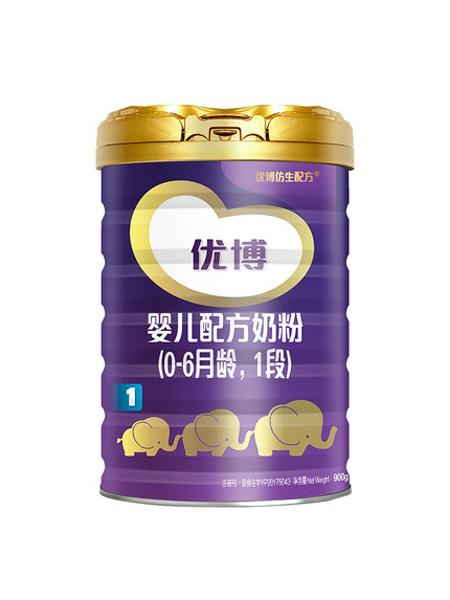 圣元婴儿食品圣元法国版优博1段0-6个月婴幼儿奶粉900g罐原装进口