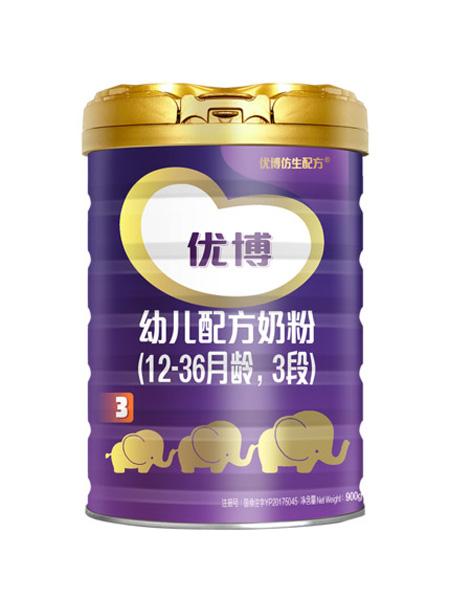 圣元婴儿食品法版优博3段奶粉婴儿900g罐