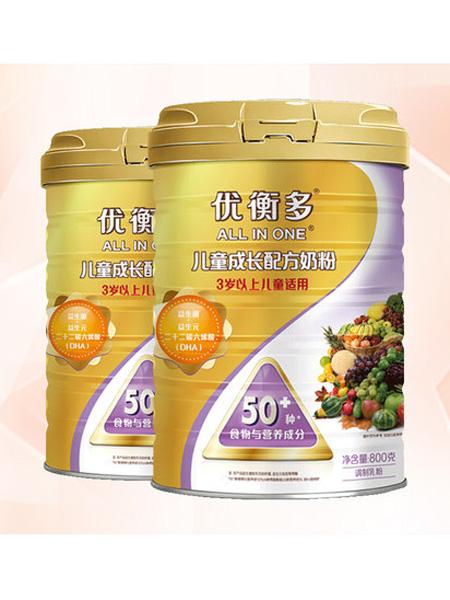 多美滋婴儿食品优衡多奶粉4段儿童成长配方奶粉800g双罐装