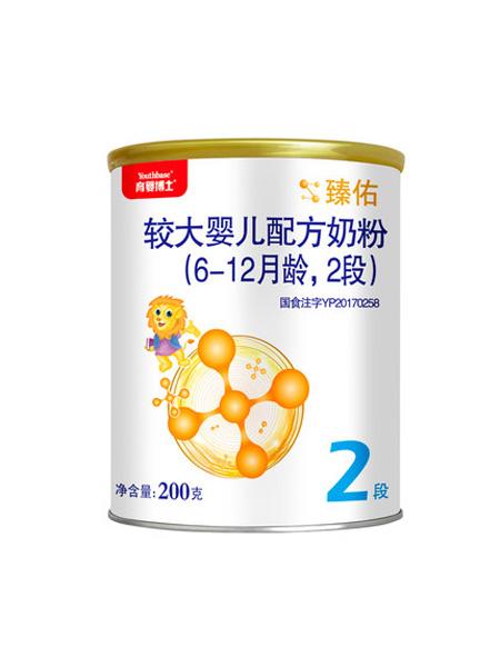 育婴博士婴儿食品贝因美育婴博士 臻佑较大婴儿配方牛奶粉 (6-12月龄,2段)200g