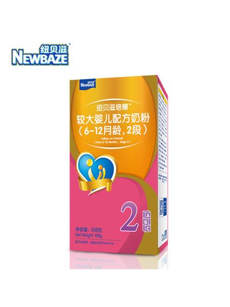 纽贝滋奶粉婴儿食品Newbaze/纽贝滋培臻奶粉婴儿配方奶粉2段牛奶粉108g