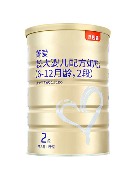 贝因美婴儿食品贝因美菁爱2段200g(罐装)
