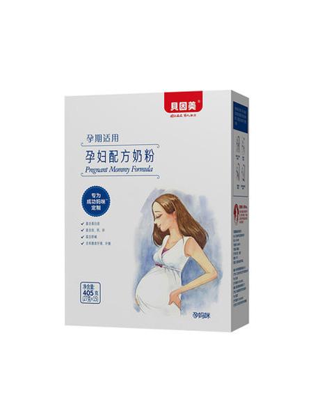 贝因美婴儿食品贝因美孕产妇奶粉孕期孕妈咪配方405g盒装奶粉孕期适用