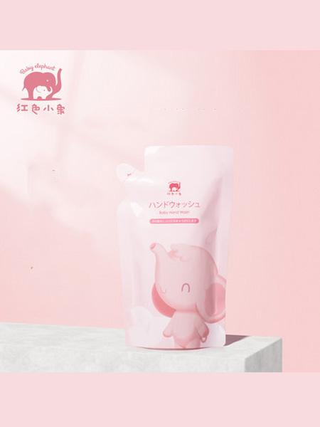 红色小象婴童用品2020春夏红色小象儿童净护洗手液200ml*5袋 温和去渍宝宝儿童专用