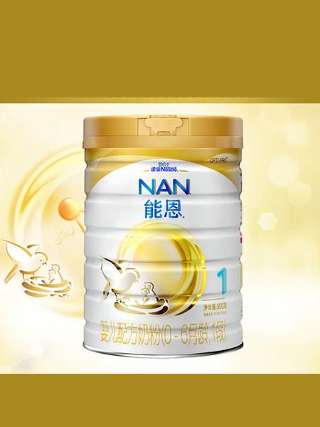 雀巢婴儿食品雀巢能恩1段婴幼儿配方奶粉900克罐装添加活性益生菌
