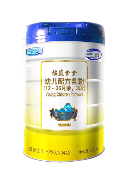 摇篮婴儿食品幼儿配方乳粉12-36月龄,3段