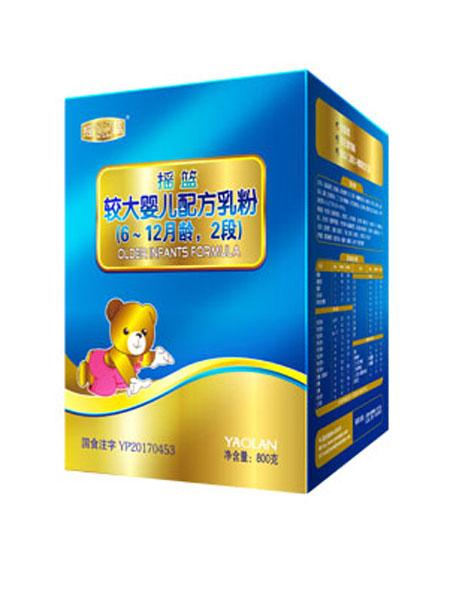 摇篮婴儿食品较大婴儿配方乳粉6-12月月龄,2段