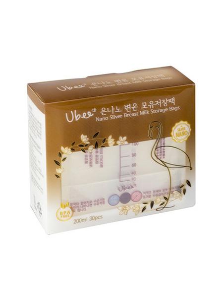 幼蓓婴童用品幼蓓(Ubee)纳米银母乳储存袋/保鲜袋30片/盒