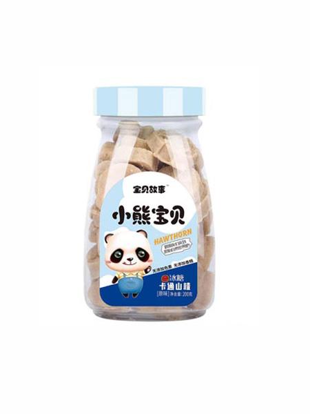 宝贝故事婴儿食品冰糖卡通山楂-原味