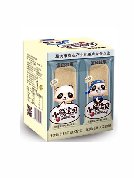 宝贝故事婴儿食品冰糖雪糕山楂-水蜜桃味盒装