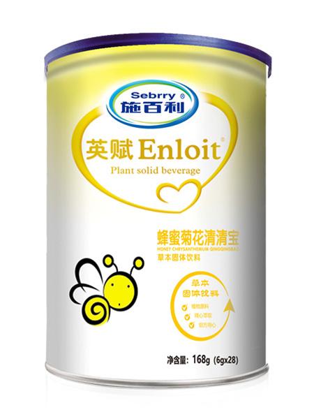 施百利婴儿食品施百利英赋蜂蜜菊花清清宝