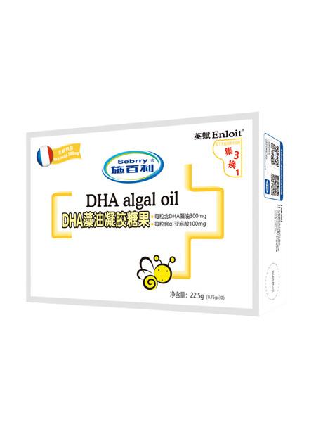 施百利婴儿食品施百利英赋DHA藻油凝胶糖果