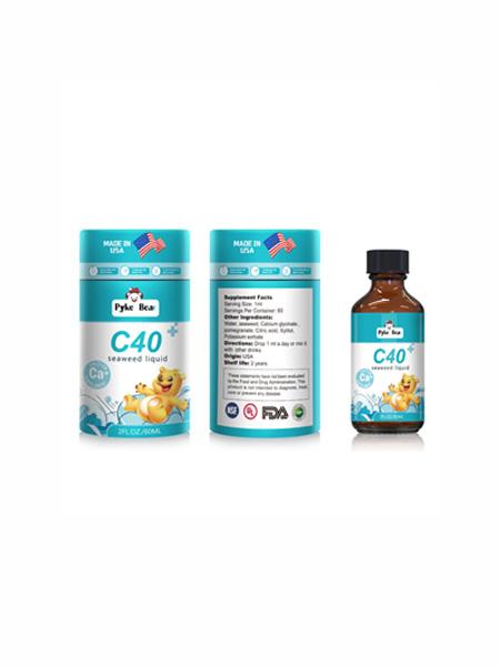 派克熊婴儿食品派克熊牌C40海藻饮液(钙滴剂)