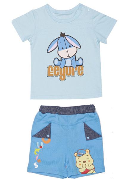 Disney Cuties童装品牌2020春夏纯棉卡通小动物套装