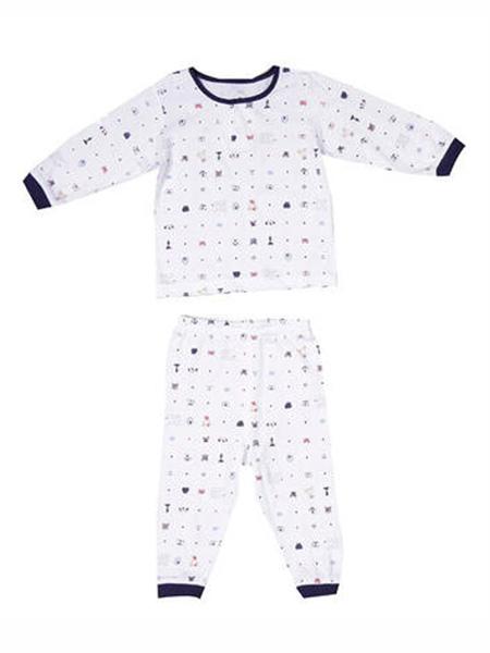 Disney Cuties童装品牌2020春夏波点纯棉长袖套装