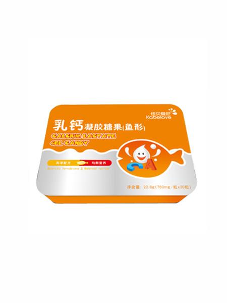 佳贝爱尼婴儿食品佳贝爱尼乳钙凝胶糖果(鱼形)