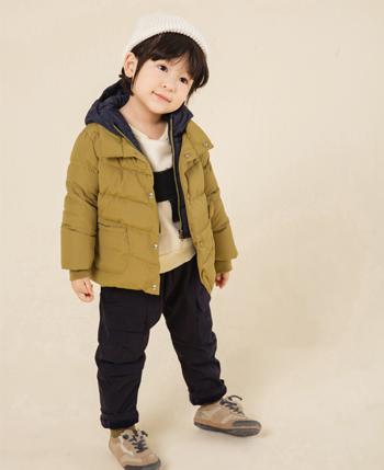 童乐惠童装品牌2020秋冬男童小童羽绒服外套