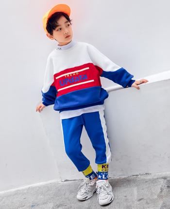 童乐惠童装品牌2020秋冬男童高领卫衣