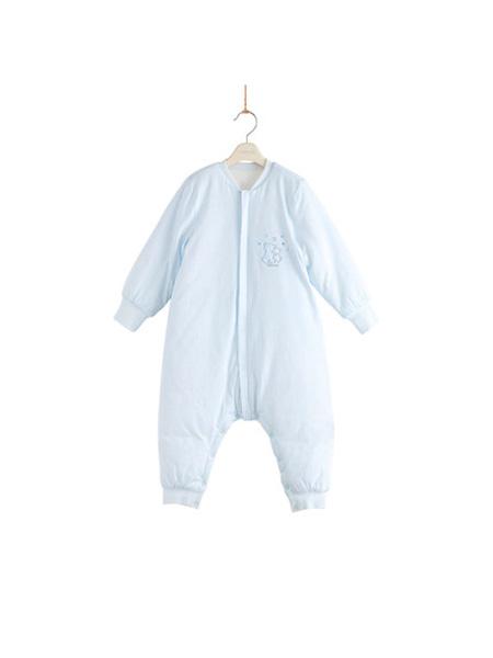 英氏婴童用品英氏男女宝宝睡袋加厚款婴儿防踢被夹棉分腿