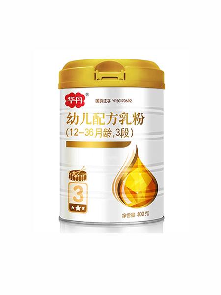 爱维仕婴儿食品华丹幼儿配方乳粉3段