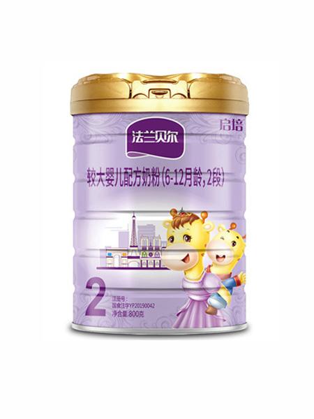圣元启培婴儿食品法兰贝尔较大婴儿配方奶粉(6-12月龄,2段)