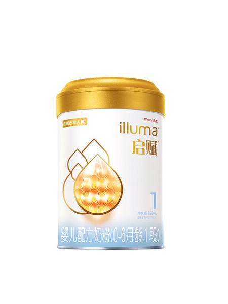 惠氏启赋婴儿食品启赋新规格1段婴幼儿配方牛奶粉850g*1罐 爱尔兰进口